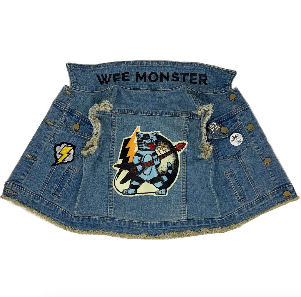 Thundercat Denim Vest - Unisex for Boys and Girls