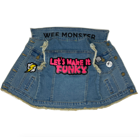 Let's Make It Funky Denim Vest - Unisex for Boys and Girls