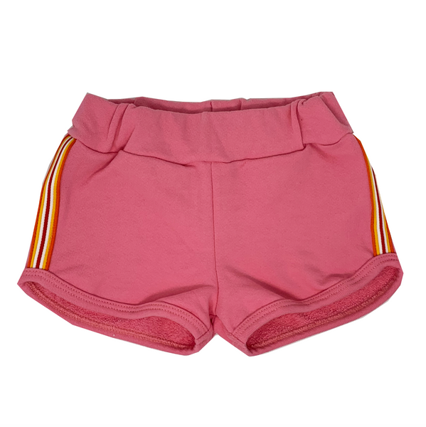 Punky Pink Short Shorts - Unisex for Boys and Girls