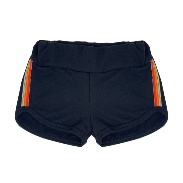 Super Duper Black Short Shorts - Unisex for Boys and Girls