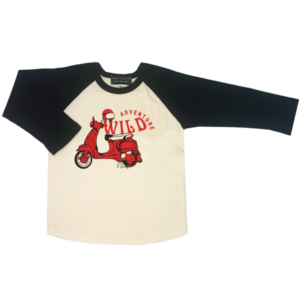 Wild Adventure Raglan - Unisex for Boys and Girls
