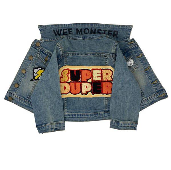 Super Duper Denim Jacket - Unisex for Boys and Girls