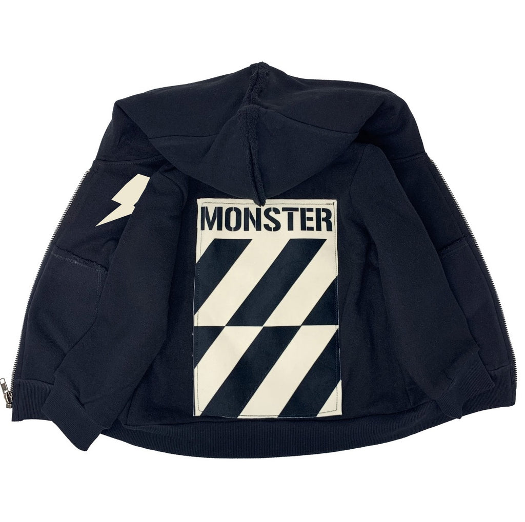 MONSTER Zip Hoodie - Unisex for Boys and Girls