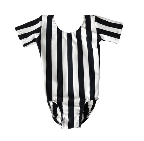 Vertical Striped Leotard