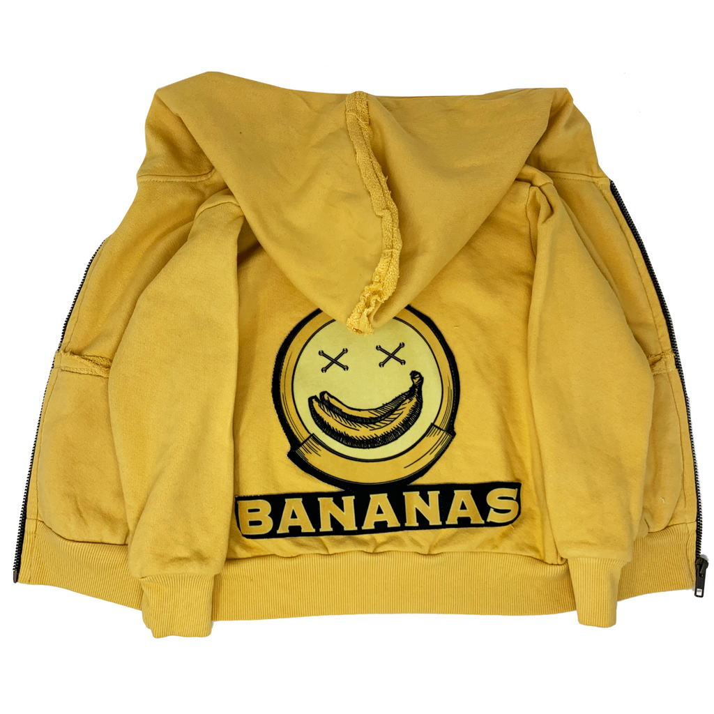 Bananas Zip Hoodie - Unisex for Boys and Girls