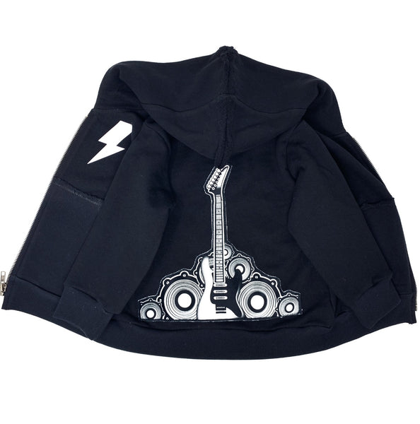 Guitar Zip Hoodie - Unisex for Boys and Girls