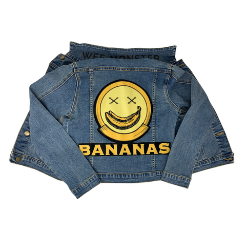 Bananas Denim Jacket - Unisex for Boys and Girls