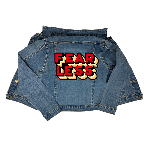 Fearless Denim Jacket - Unisex for Boys and Girls