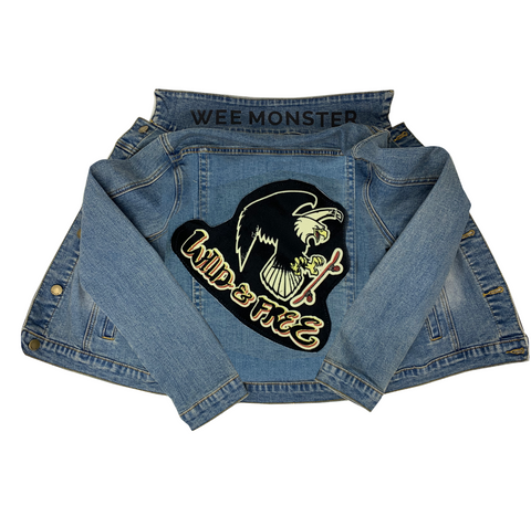 Wild & Free Denim Jacket - Unisex for Boys and Girls