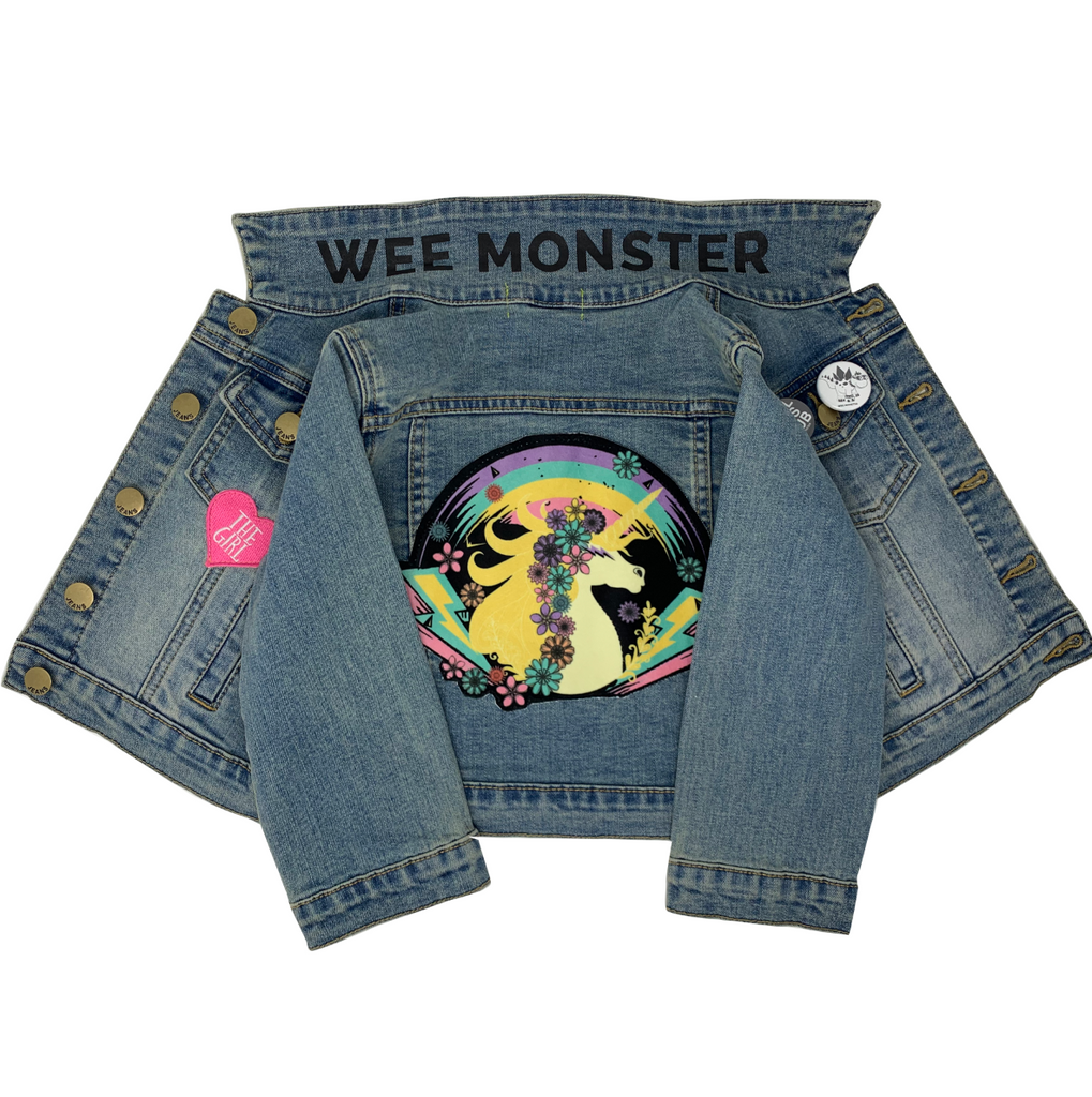 Unicorn Denim Jacket - Unisex for Boys and Girls