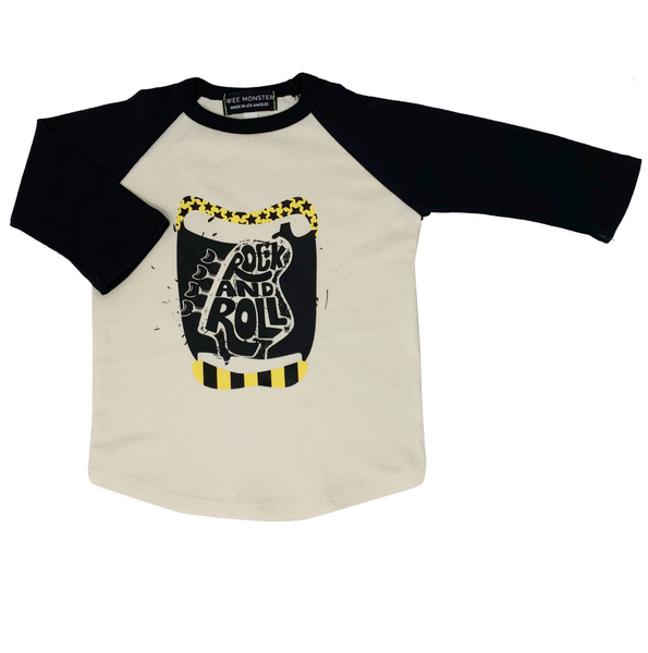 Rock & Roll Raglan - Unisex for Boys and Girls