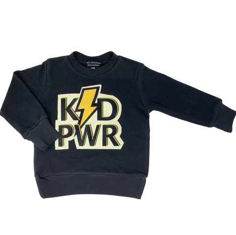 KID PWR Sweatshirt - Unisex for Boys and Girls