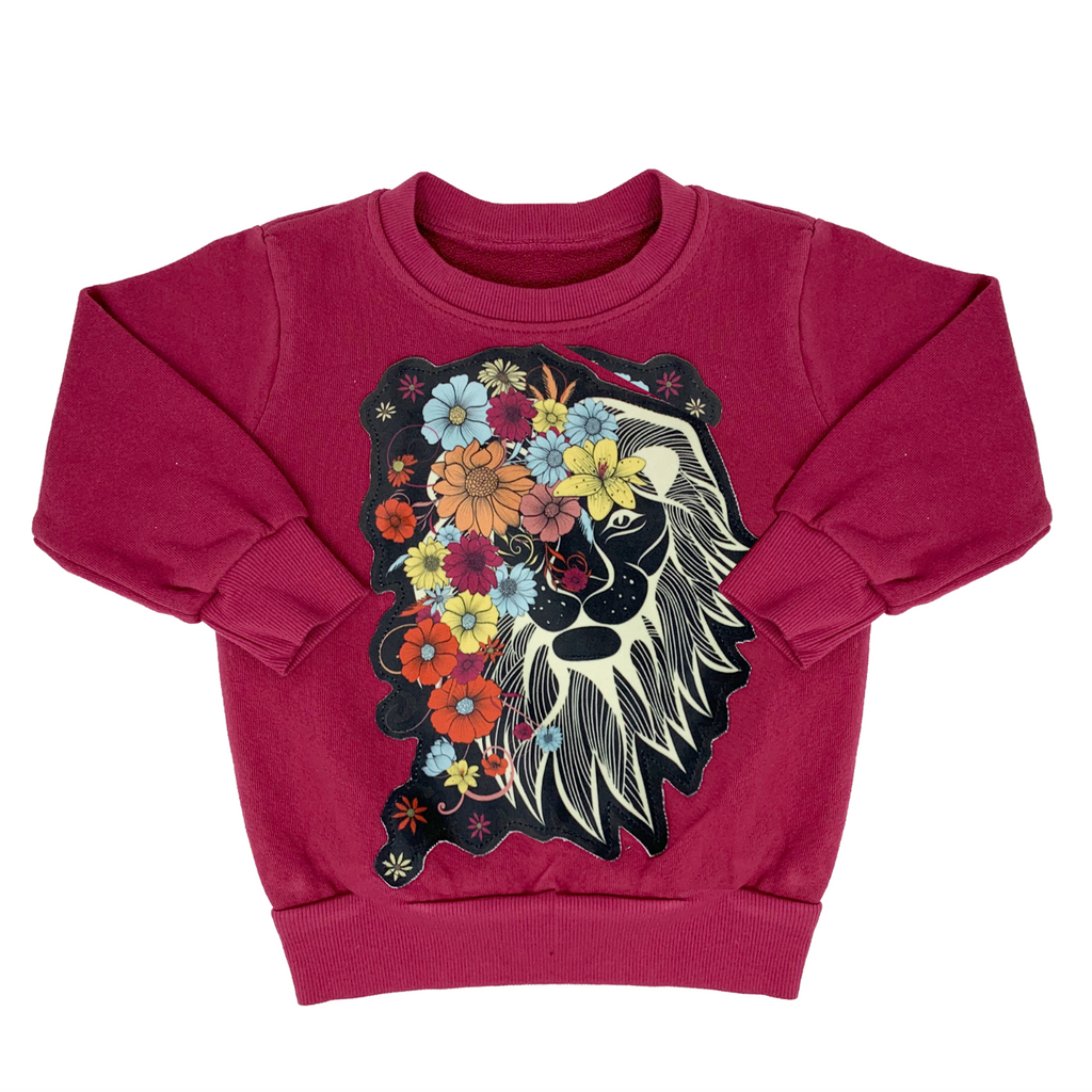 Lion Sweatshirt - Unisex for Boys and Girls