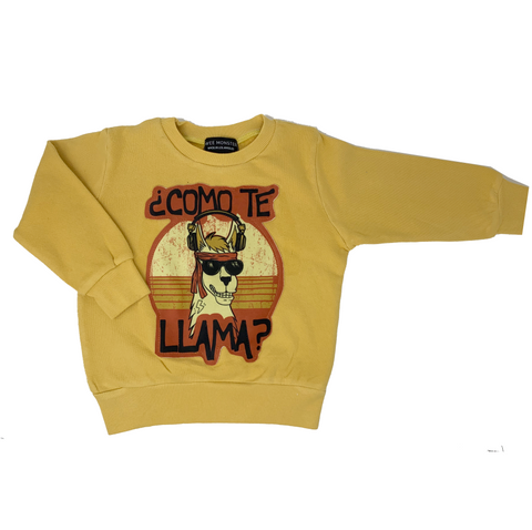 ¿Como Te Llama? Sweatshirt - Unisex for Boys and Girls