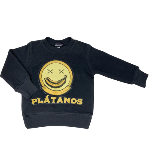Platanos Sweatshirt - Unisex for Boys and Girls