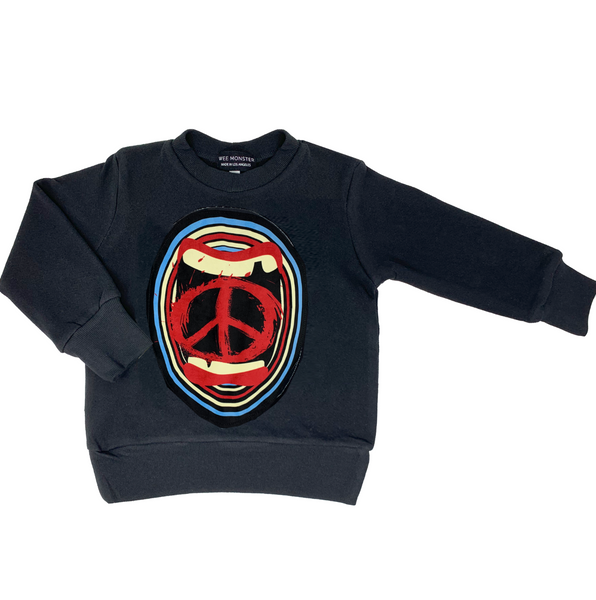 Screaming For Peace Sweatshirt - Unisex for Boys and Girls