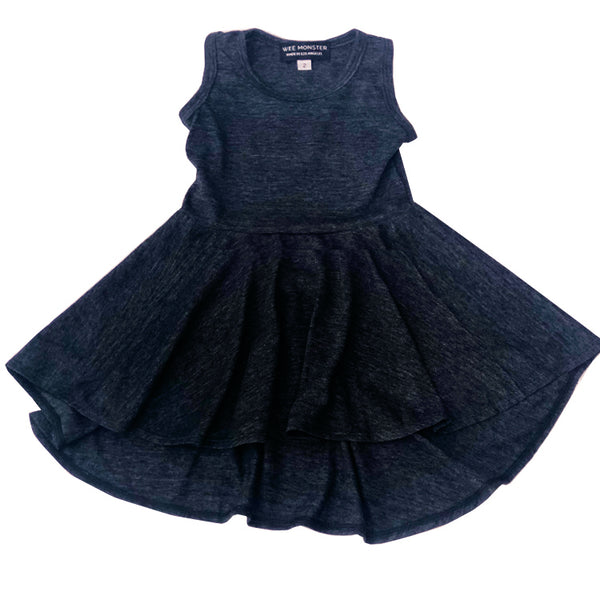 charcoal dress for toddler girl, kids clothes, girls clothes, dresses for girls