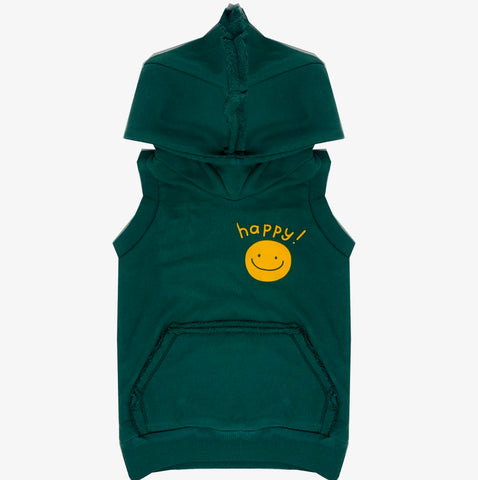 Happy Hoodie Vest - Unisex for Boys and Girls