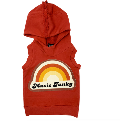 100% cotton zip up hoodie vest unisex boys girls