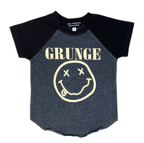 Grunge Raglan - Unisex for Boys and Girls