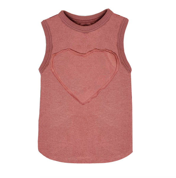 Heart Basics Muscle Tank - Unisex for Boys and Girls
