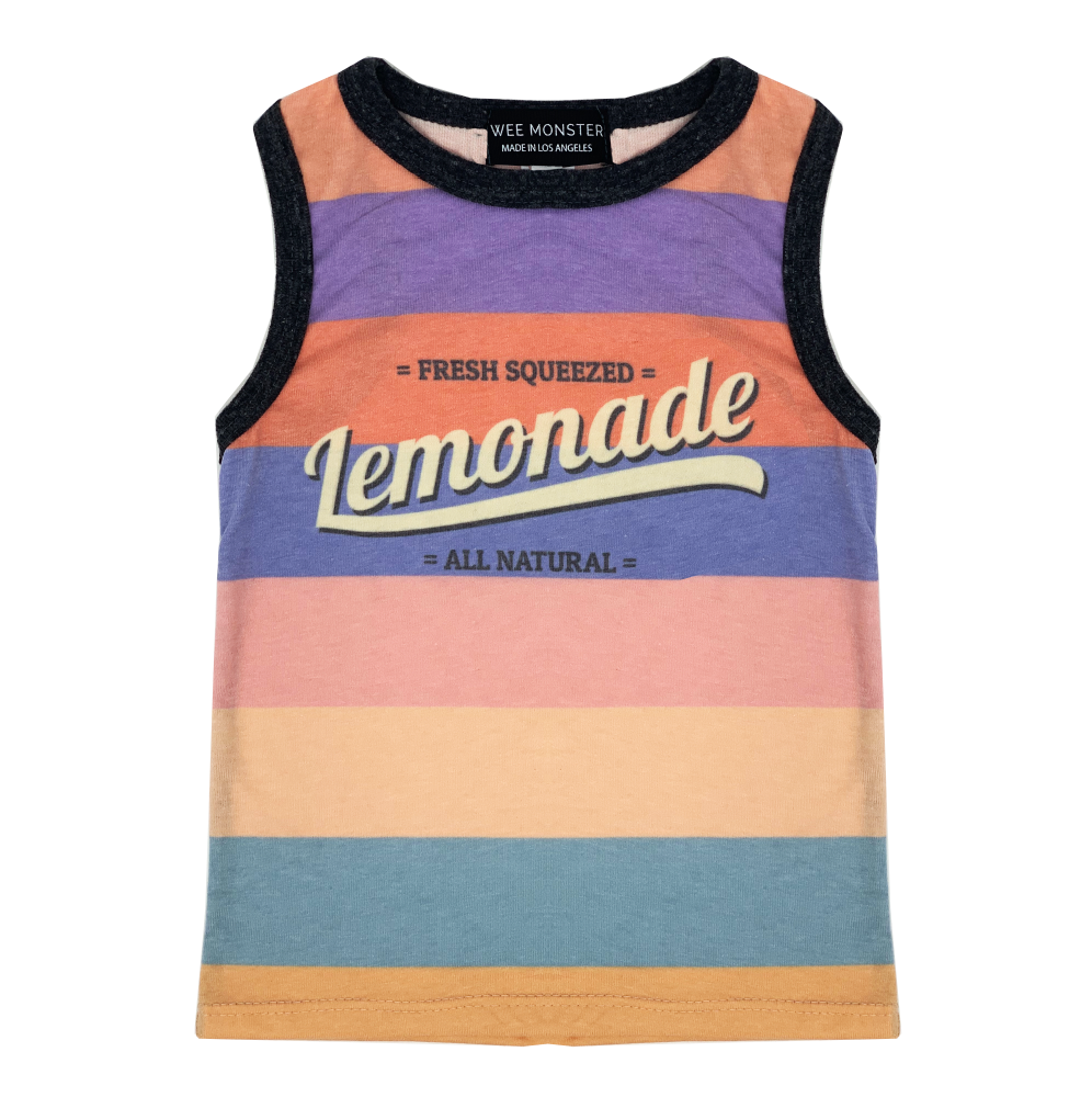 Lemonade Muscle Tank - Unisex for Boys and Girls