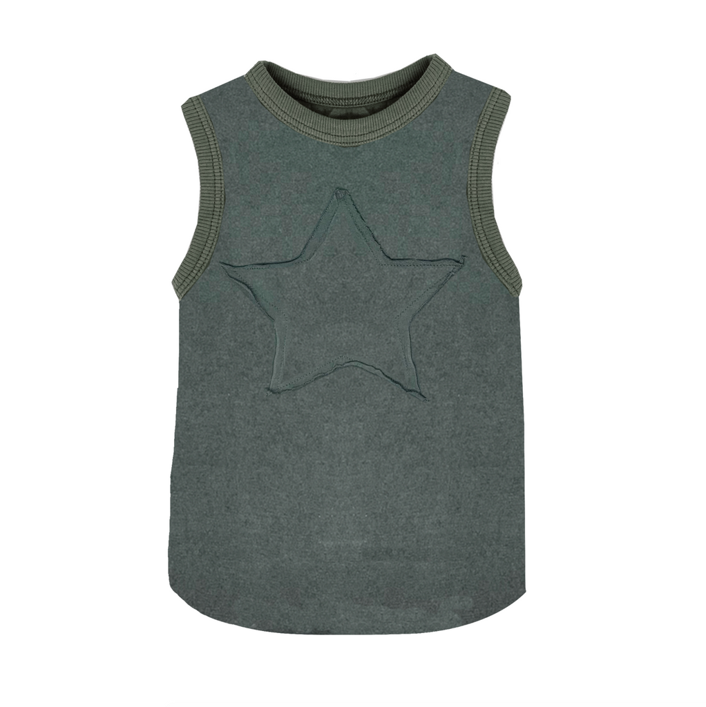 Star Basics Muscle Tank - Unisex for Boys and Girls