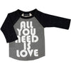 graphic tee tshirt raglan unisex boys girls hipster