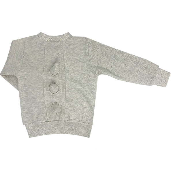 100% cotton spike sweatshirt crewneck unisex boys girls