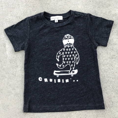 Cruisin' Sloth Graphic Tee