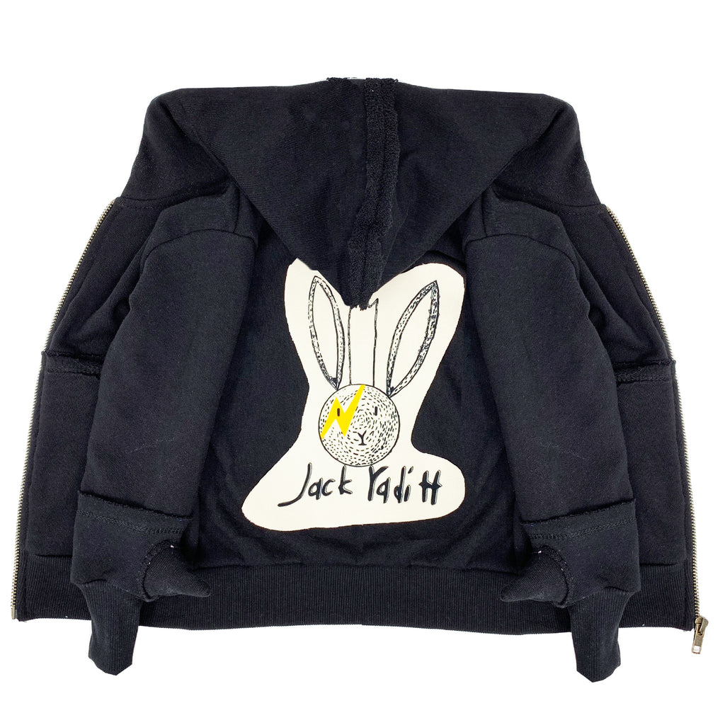 100% cotton spike zip up hoodie jacket unisex boys girls