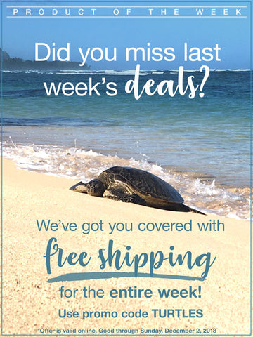 Free Shipping Black Friday Cyber Monday and Turtles | Hawaiian Bath & Body