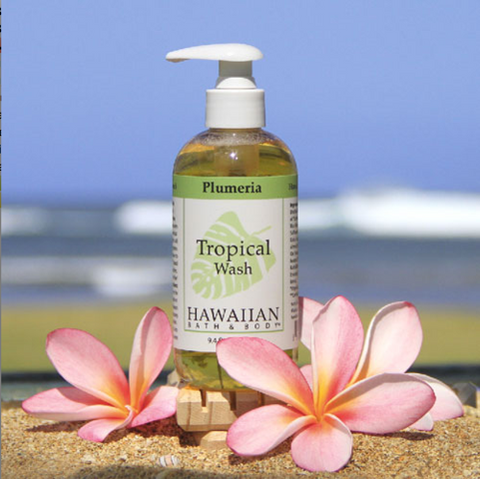 Plumeria Body Wash | Hawaiian Bath & Body