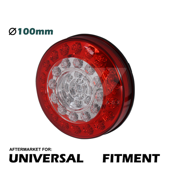 Universal Replacement - CREE LED Rear Tail Lamp Version 2 (Brake/Signal/Reverse)