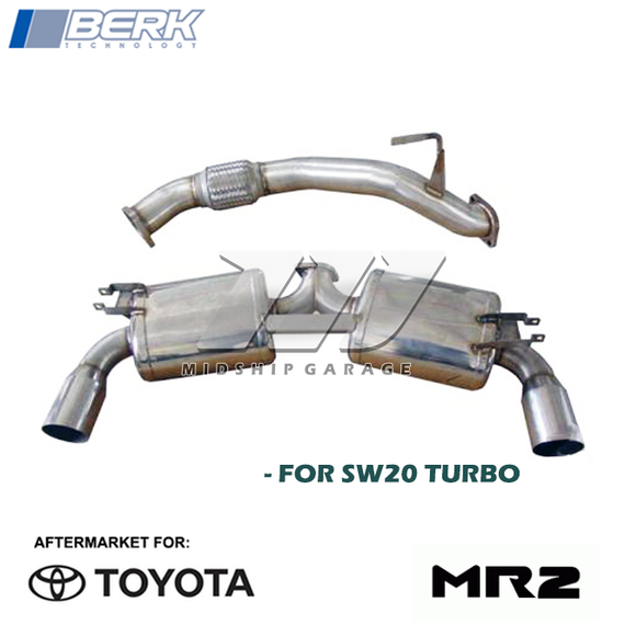 Berk Technology - Toyota MR2 Turbo SW20 (93-99) 3S-GTE - 3