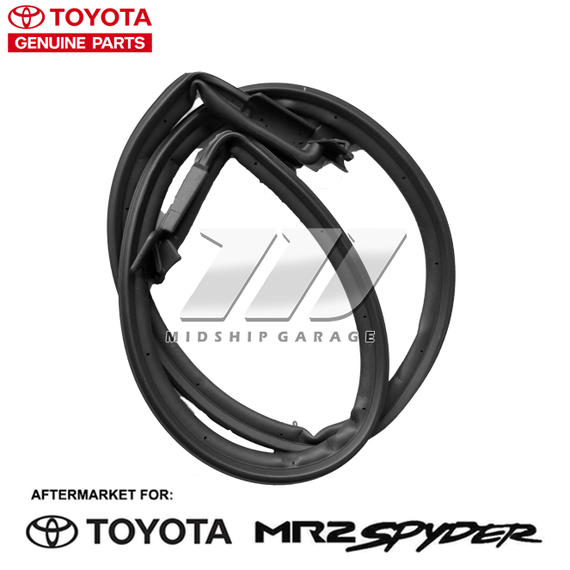 Genuine OEM - Toyota MR2 Spyder ZZW30 (99-07) - Hardtop Rear Weatherstrip Seal