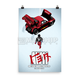 Midship Garage - Toyota MR2 AW11 - 222D Group S Akira Style Movie Poster