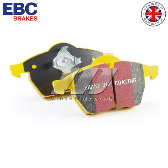 EBC Brakes - Toyota MR2 SW20 90-99 - 'Yellowstuff' Street/Track Front Brake Pad Set [Front & Rear]