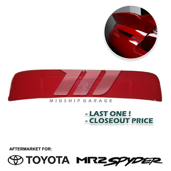 MR2 Spyder MR-S ZZW30 (99-07) - Ducktail Spoiler Ver. 2 (USED) - LAST ONE!