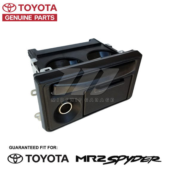 Genuine OEM - Toyota MR2 Spyder/MR-S ZZW30 (99-07) -  Cup Holder Assembly w/ Ash Tray & Cigarette Lighter - USED