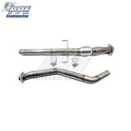 PPE Engineering - Toyota Celica ZZT23 99-06 1ZZFE - Midpipe for Race Header (Optional High Flow Cat)