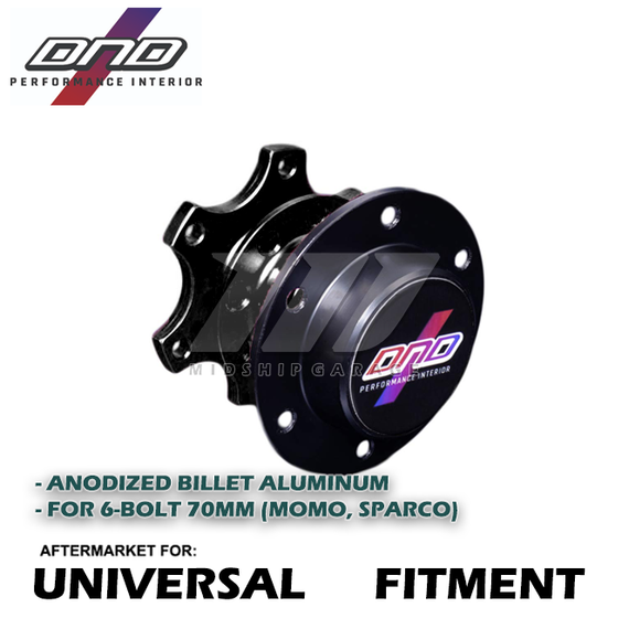 DND Performance Interior - Universal Fitment - Aluminum Spline Quick Release (Various Colors)