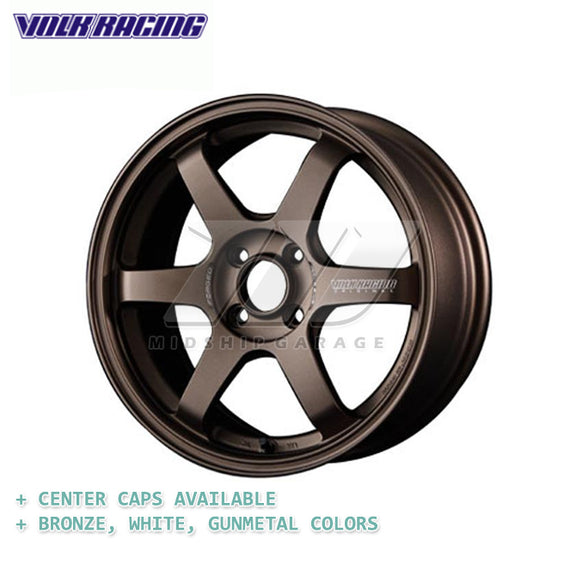 Volk Racing - TE37 Sonic Wheel - 15x7 4x100, +25mm
