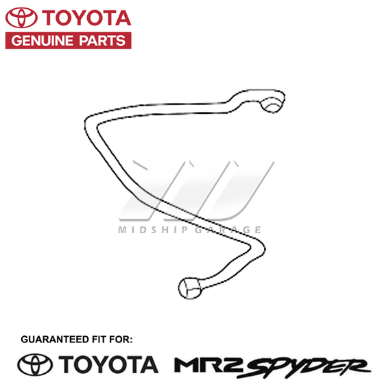 Genuine OEM - Toyota MR2 Spyder/MR-S ZZW30 (99-07) - Air Condition A/C Discharge Line
