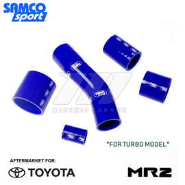 Samco - Toyota MR2 Turbo SW20 89-99 - 5pc Silicone Hose Set