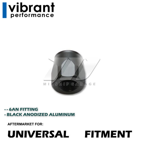 Vibrant Performance - Universal Hose End Socket; -6AN