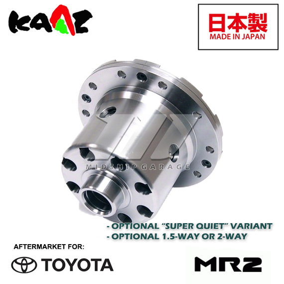 Kaaz - Toyota MR2 SW20 Turbo 3S-GTE (89-99) - Viscous 2 Way LSD Limited Slip Differential for 3S-GTE (Various)