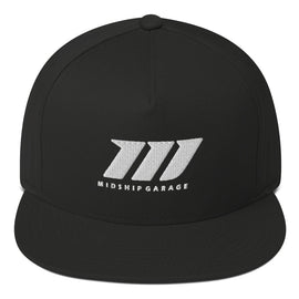 "Midship Garage - ""3 Pillars"" Flat Bill Cap"