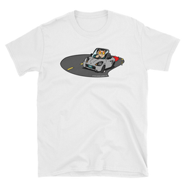 "Midship Garage ""Roadster Rage"" MR2 Spyder ZZW30 T-shirt - Silver"