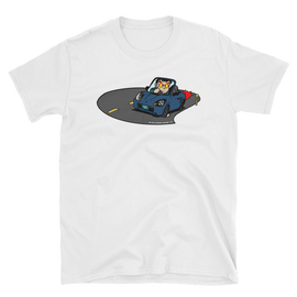"Midship Garage ""Roadster Rage"" MR2 Spyder ZZW30 T-shirt - Blue"